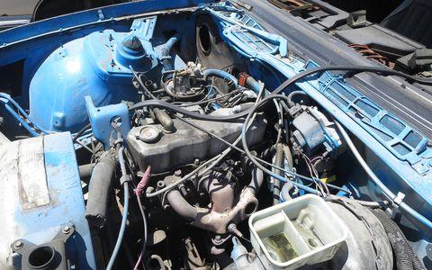 Iron Duke engine in 1983 Chevrolet Camaro