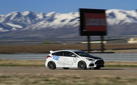 The Adrenaline Academy is free for owners of the Focus RS.