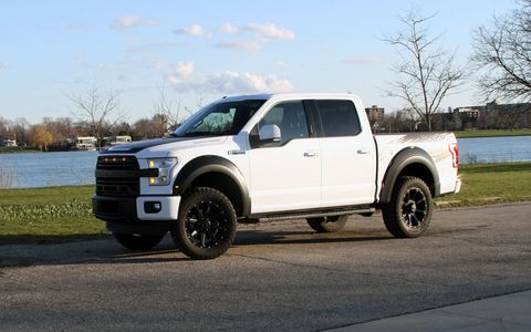 The Roush F-150 gets a supercharger good for 600 hp and a Fox suspension setup.