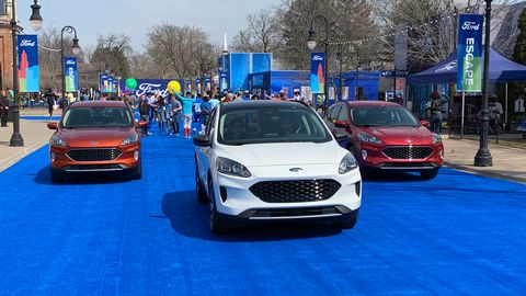 Ford took over Greenfield Village in Dearborn, Michigan for the reveal of the 2020 Escape.