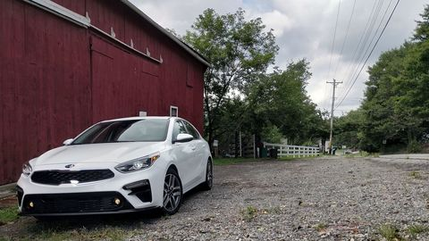 The 2019 Kia Forte now gets a continuously variable transmission.