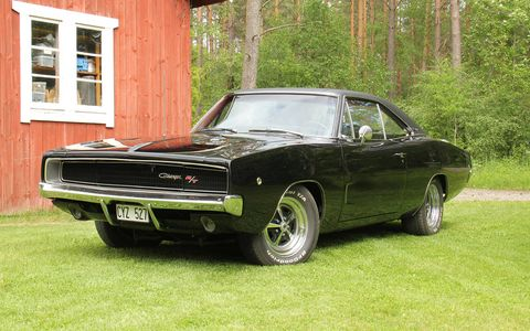 Having a genuine '69 R/T Charger in Stockholm must be a good feeling.