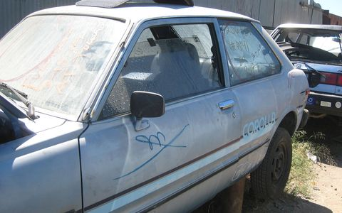 At first glance, this seemed like an ordinary Toyota Corolla Tercel.