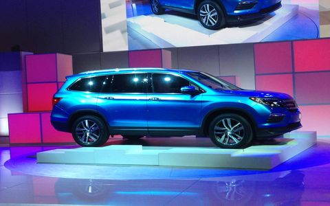 The 2016 Honda Pilot goes on sale this summer.