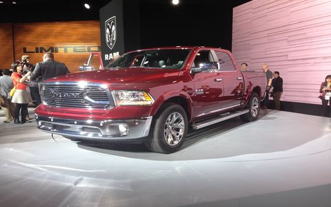 The top of line Ram Laramie Limited debuted at the Chicago Auto Show.
