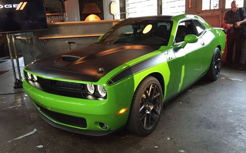 Dodge introduced the Charger Daytona and Challenger T/A at Vinsetta Garage during Woodward Dream Cruise week.