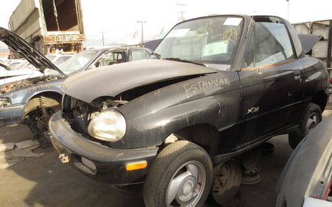 Poor sad discarded Suzuki.