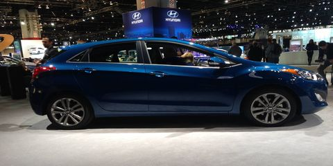 Hyundai introduced the refreshed 2016 Elantra GT at the Chicago Auto Show, offering updated styling with customer-focused technology and features.