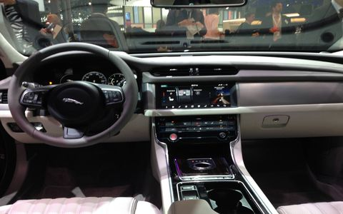 The Jaguar XF and Range Rover SVAutobiography made debuts at the 2015 New York auto show