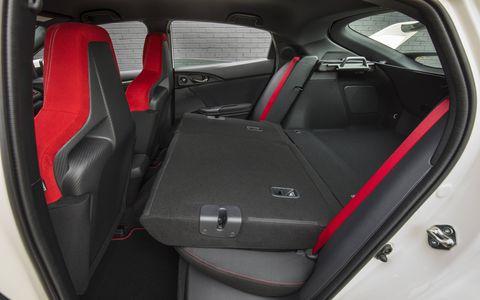 2017 Honda Civic Type R interior, driver focused and purposeful