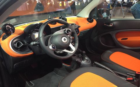 The 2016 Smart Fortwo debuts at the New York auto show.
