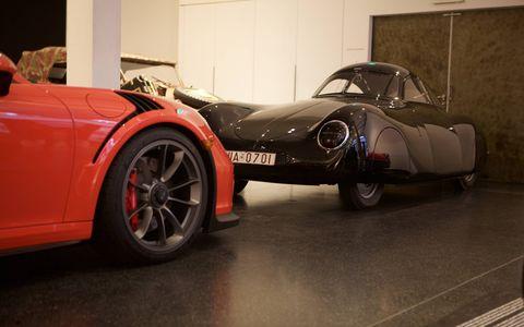 Meeting the oldest Porsche