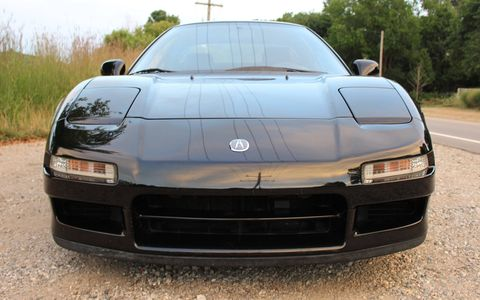 This 1991 Acura NSX still wears the Berlina black paint it came with from the factory in Japan.