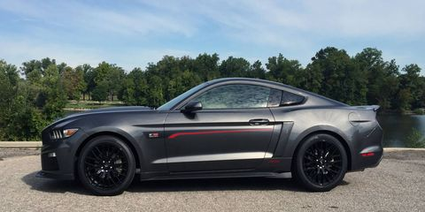 The RS is the least expensive package from Roush, giving you all of the visual cues, but none of the power.