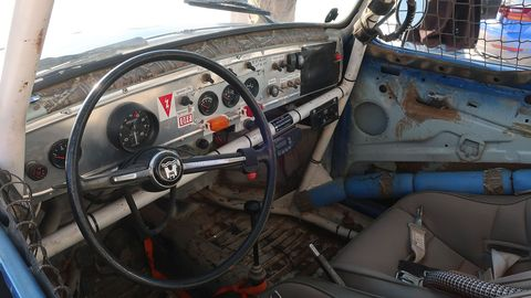 This looks a lot like the homemade gauge panel in the hooptie '58 Beetle I had when I was in high school.