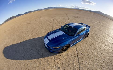 The 2017 Shelby Super Snake delivers 670 hp, costs $70,000 and debuts at the 2017 Barrett-Jackson auctions.
