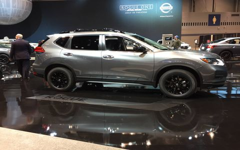 On the eve of the Chicago Auto Show Wednesday night, Nissan unveiled a six-vehicle Midnight Edition campaign that now includes the Sentra, Altima, Rogue, Murano and Pathfinder in addition to the Maxima.