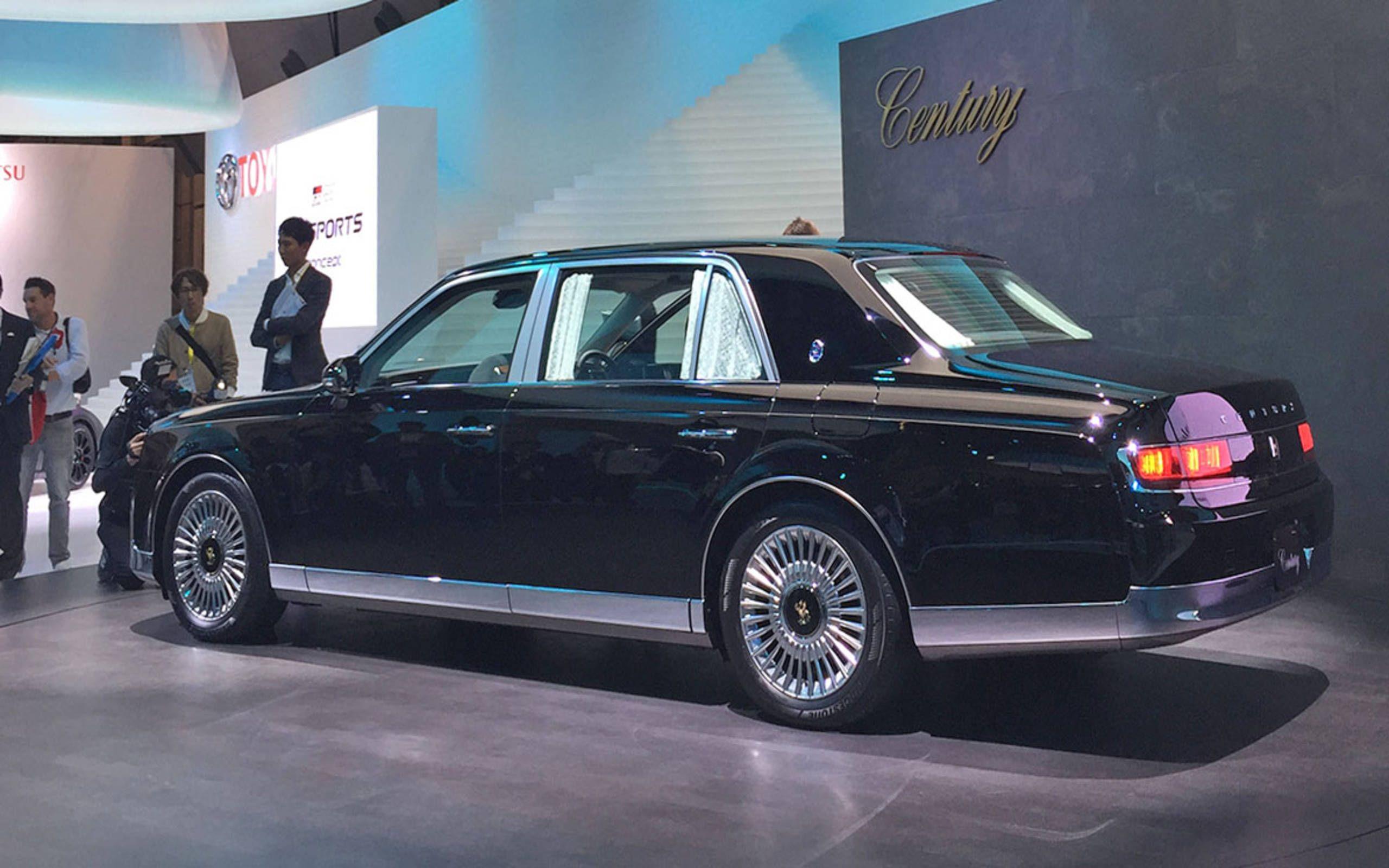 No Modern Luxury Sedan Can Touch The Toyota Century