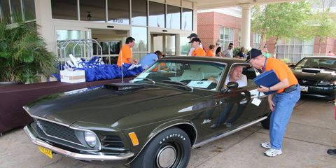 The Mustang Club of America's 40th Anniversary meet will take place at the Indianapolis Motor Speedway.