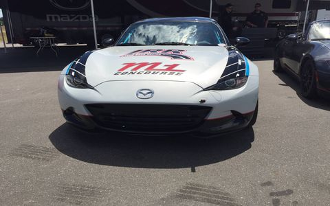 The MX-5 Cup car costs $59,000 from Long Road Racing.