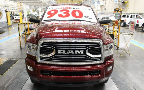 The 2018 Ram 3500 HD has more torque than any other heavy duty pickup at 930 lb-ft.