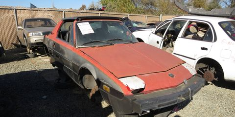 These cars show up in self-service wrecking yards from time to time.