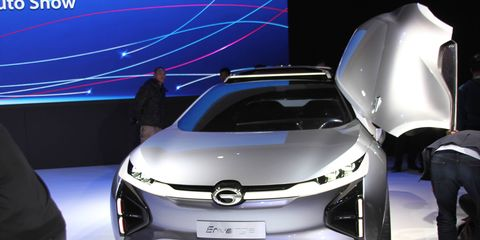 Chinese automaker GAC announced it was bringing its cars to the U.S. in late 2019.