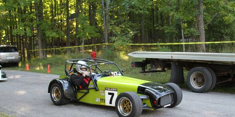 The 2018 Empire Hill Climb went off without a hitch on Sept. 15 in Northern Michigan. The half-mile course was trounced by ace driver Peter Cunningham in his Acura TLX race car in the exhibition class. But the real winner was Daniel Milewski in a race-prepared 2002 Chevrolet Corvette.