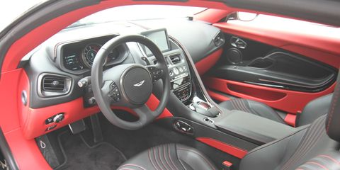 Gallery 2018 Aston Martin Db11 Interior
