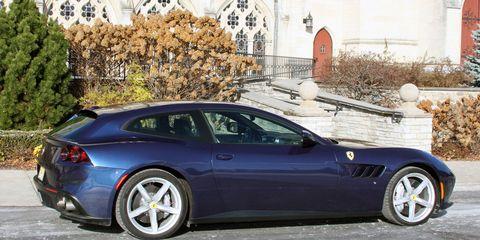 The Ferrari GTC4Lusso gets a 6.3-liter V12 making 680 hp.