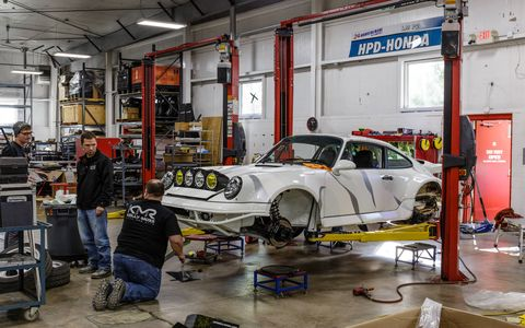 The Kelly-Moss shop in Madison, WI has everything you need to make a race car, or an off-road race car, in their 65,000-sq-ft shop in Madison, Wisconsin.