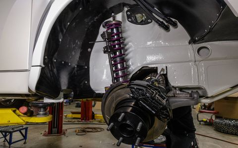 Triple adjustable long travel, coilover,  Reiger shocks