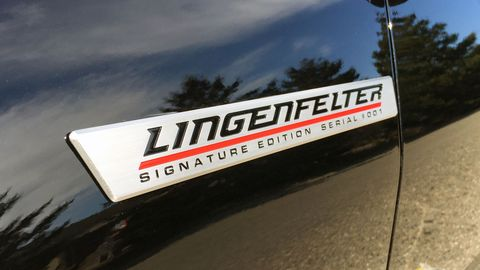 The Lingenfelter Camaro ZL1 gets an output boost to 720 hp with a tune and pulley set.