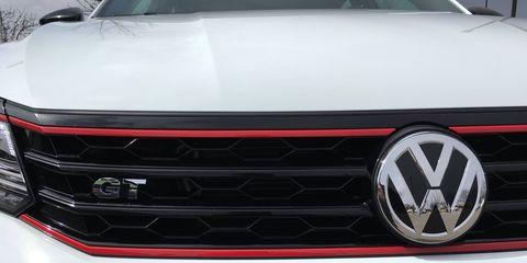 2018 VW Passat GT details and doors open