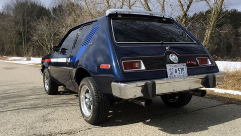 This 1974 AMC Gremlin got a V8 engine swap to ape the special-edition Randall-built XRs of the day.