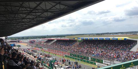 The different sites ans scenes around Le Mans