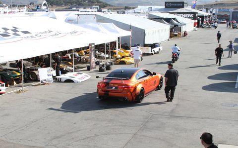 Jaguar XE SV Project 8 unveil