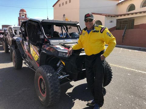 "After a 50-year delay drag racing legend Don ""The Snake"" Prudhomme found his redemption in the desert finishing the grueling five day Yokohama NORRA Mexican 1000."