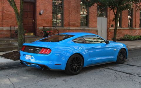 2017 Ford Mustang 5.0 with Ford Performance Parts looks good on the street