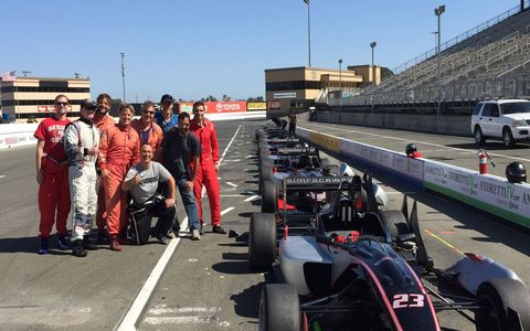 Simraceway's Formula 3 school at Sonoma Raceway in California teaches aspiring drivers how to handle an F3 car on the track and get their SCCA license.