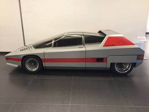 1976 Bertone Navajo. Don't worry, it's only a concept car.