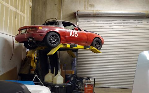 Renegade Hybrids might specialize in dropping Chevrolet power into Porsche chassis, but anything is welcome in the shop.