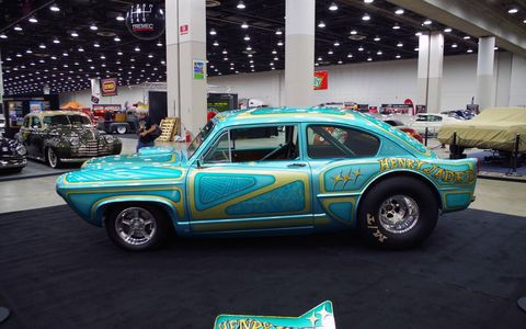 Here are some of the best traditional hot rods, custom cars and vintage race cars from the 2017 Detroit Autorama.