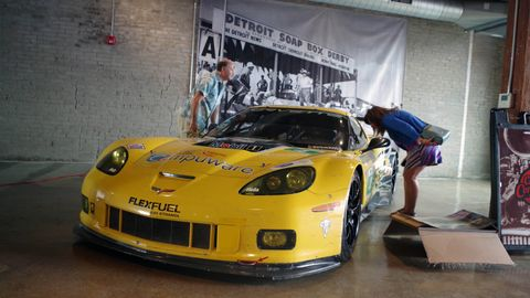 In honor of the 24 Hours of Le Mans, we hosted a watch party and a cars and coffee in Detroit's Corktown neighborhood.