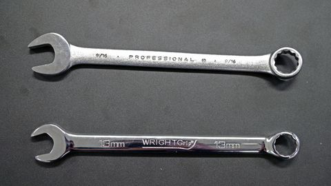 The combination wrench might be one of the most basic tools in your box, but it's also one of the most important.