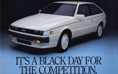 In the United States, the 1987 Impulse Turbo RS was available only in white.