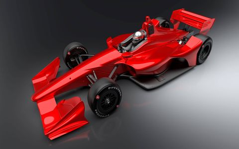 IndyCar released the latest renderings of its 2018 Indy cars on Wednesday. The two different wing packages account for the differences in the road course/short track and superspeedway versions of the aero kits.