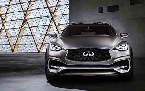 The QX30 concept is Infiniti's design vision for a new premium compact crossover, targeting a new generation of individualistic premium customers.