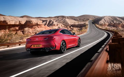 The Q60 marks Infiniti's return to sports coupes.