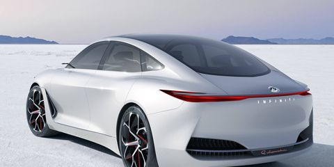The Q Inspiration concept previews a possible large sedan from Infiniti, which has not fielded a large luxury sedan competitor for over a decade.